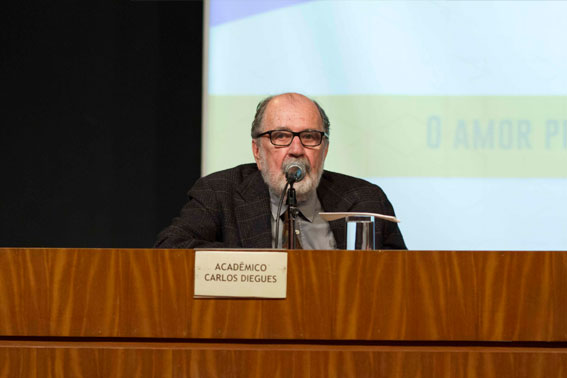 O Acadêmico Carlos Diegues